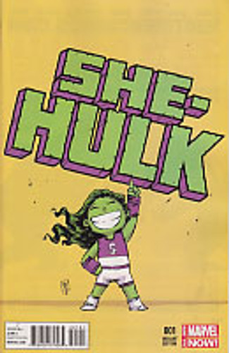 She-Hulk Vol 3. # 001c Limited Variant