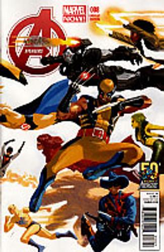 Avengers # 8b limited variant