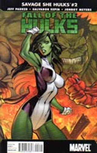 Savage She-Hulks: Fall of the Hulks # 2