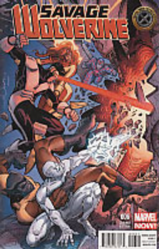 Savage Wolverine # 6d limited 'X-MEN' variant