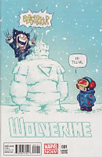Wolverine vol 3 # 1b limited 'BABY' variant