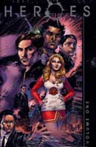 Heroes Vol 1b HC JIM LEE Cover
