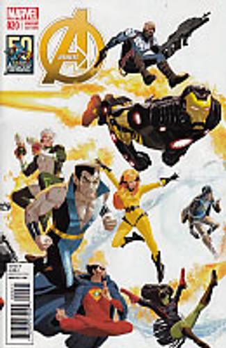 Avengers # 20b limlited variant