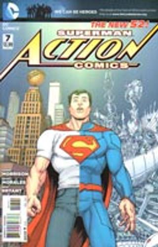 Superman: Action Comics Vol . # 7b Limited Variant