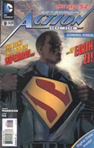 Superman: Action Comics Vol . # 9c Limited Variant
