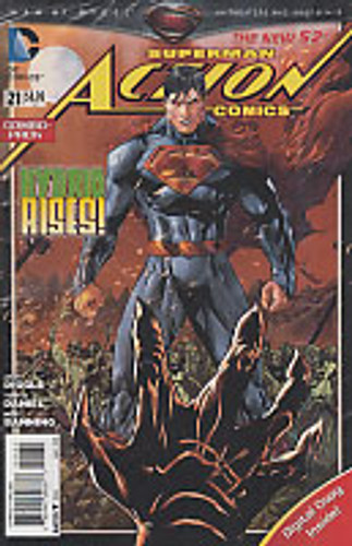 Superman: Action Comics Vol 2. # 21c Limited Variant (Combo-Pack)