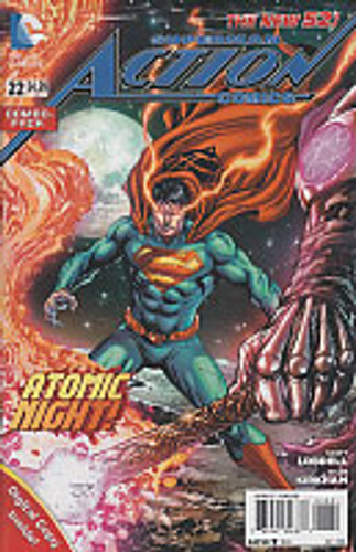 Superman: Action Comics Vol 2. # 22c Limited Variant (Combo-Pack)