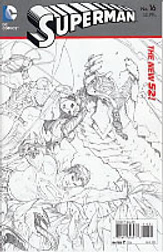 Superman Vol 2. # 16b Limited Variant