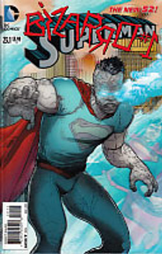 Superman: Bizarro #1 Vol 2. Issue # 23.1 3D Cover