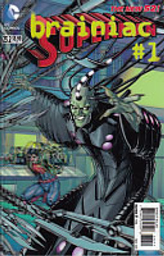 Superman: brainiac #1 Vol 2. Issue # 23.2 3D Cover