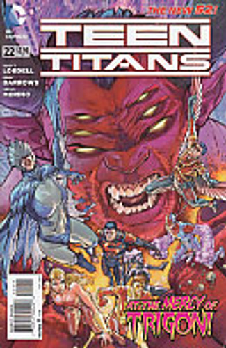 Teen Titans Vol 2. # 22