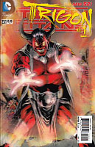 Teen Titans: Trigon #1 Vol 2. - Issue # 23.1 3D Cover