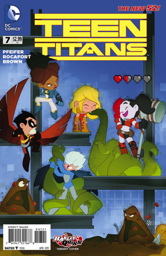 Teen Titans Vol 3. # 7b Limited Variant