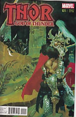 Thor: God of Thunder # 25b Limited Variant
