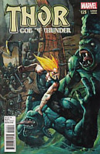 Thor: God of Thunder # 25c Limited Variant