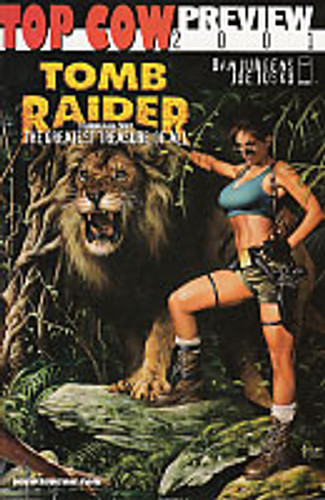 Tomb Raider: The Greatest treasure of All & Inferno Hellbound preview 2001 Flipbook