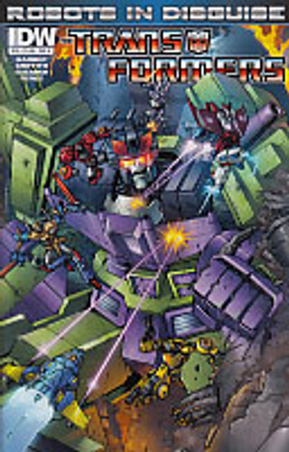 Transformers: Robots In Disguise # 16a