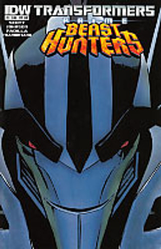 Transformers: Prime Beast Hunters # 1b Limited Variant