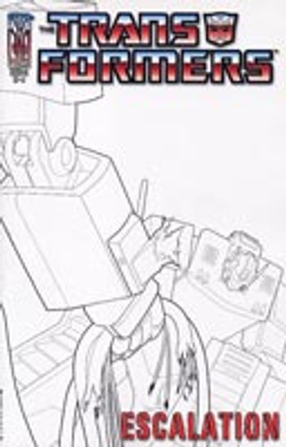 Transformers: Escalation # 5a rare incentive cover