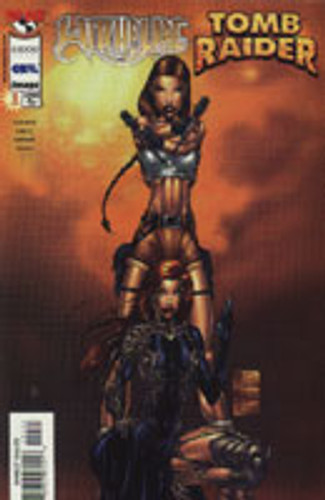 Witchblade / Tomb Raider # 1f