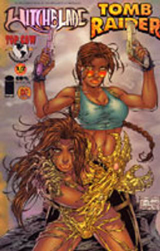 Witchblade / Tomb Raider # 1/2 DF CHROME