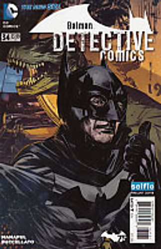 Detective Comics # 34d Limited 'Selfie' variant