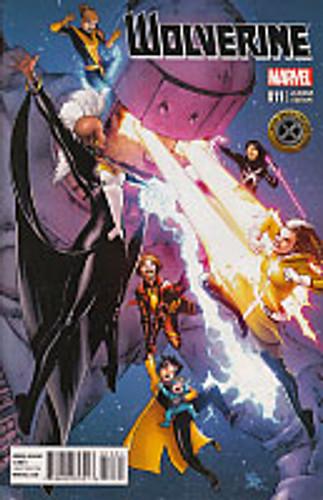 Wolverine vol 3 # 11b limited variant