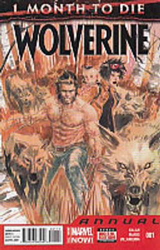 Wolverine vol 4 Annual # 1