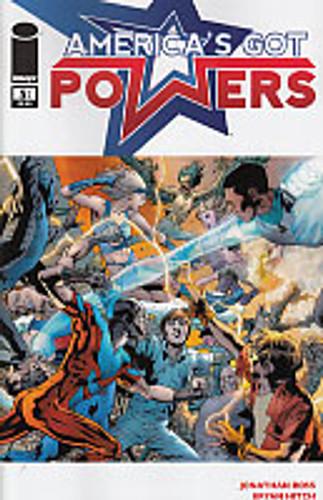 America's Got Powers # 5