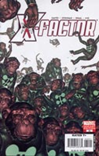 """X-Factor # 35b Limited """"MONKEY"""" Variant"""