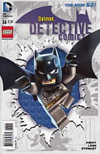Detective Comics # 36b 'Lego' variant