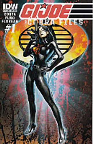 Cobra Files # 1b limited SUB variant