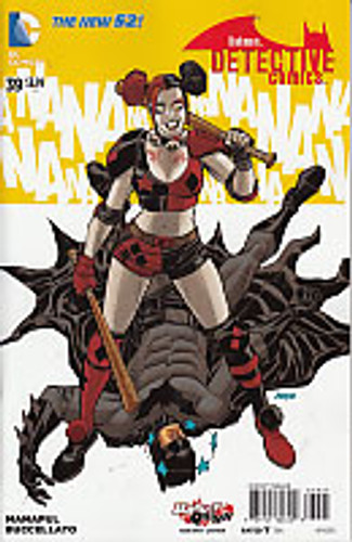 Detective Comics # 39b 'Harley Quinn' variant