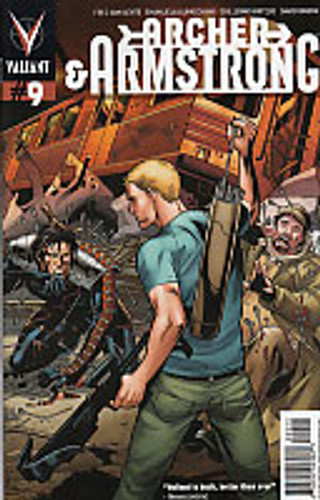 Archer & Armstrong # 9