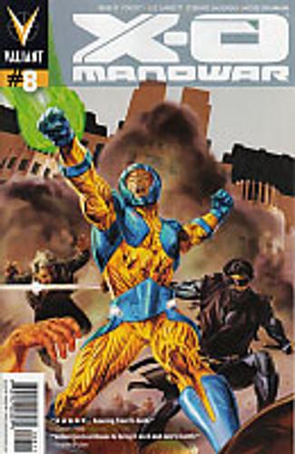 X-O Manowar # 8