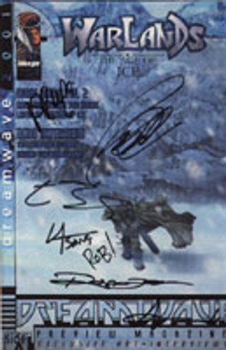 Warlands: The Age of Ice - Dreamwave Preview Magazine 2001 - MULTI SIGNED Edition
