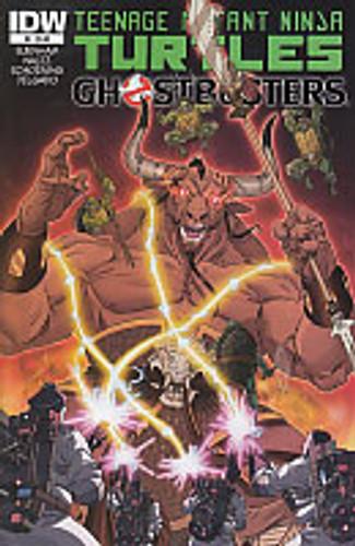 Teenage Mutant Ninja Turtles / Ghostbusters # 4