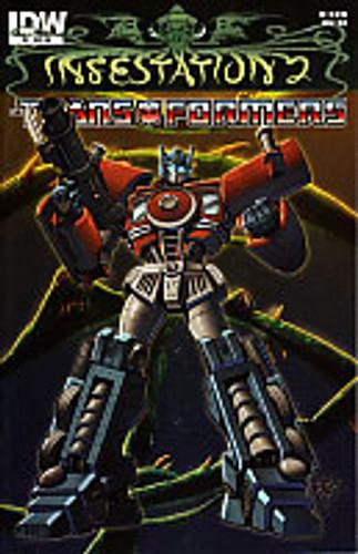 Infestation 2: Transformers # 2 limited RI variant
