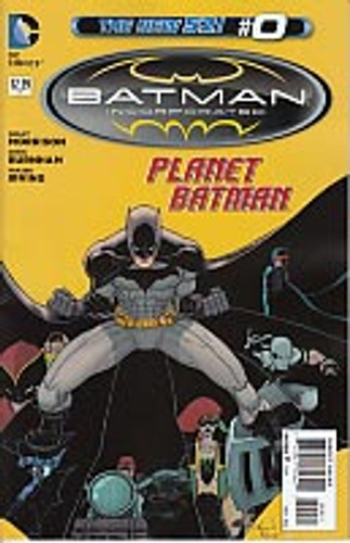 Batman: Incorporated # 0b limited variant