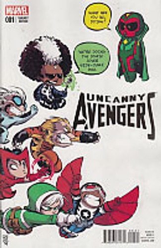 Uncanny Avengers # 1b 'BABY' variant