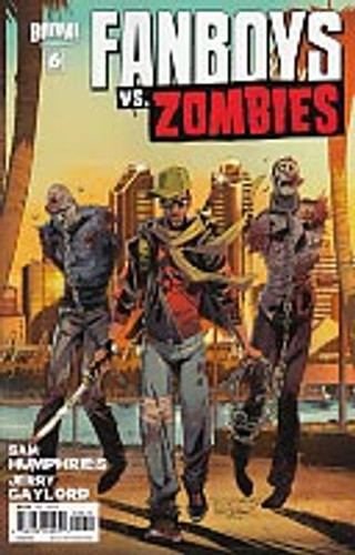 Fanboys vs. Zombies # 6