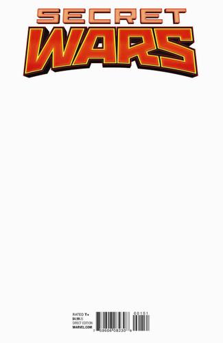 Secret Wars # 1f (of 8) Limited 'BLANK' Variant