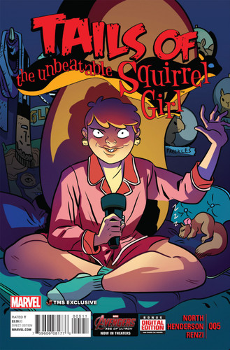 Unbeatable Squirrel Girl # 5