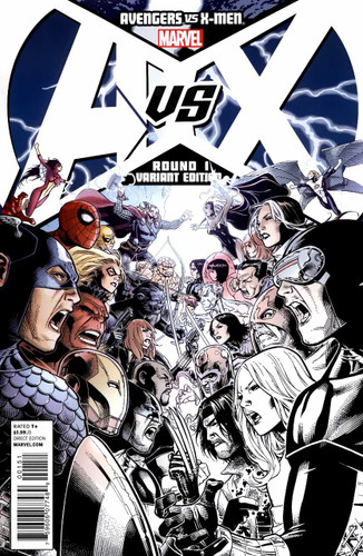 Avengers vs X-Men # 1b limited variant