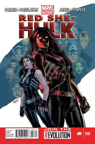 Red She-Hulk # 58