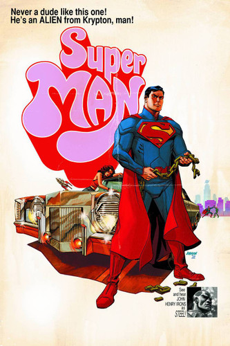 Superman Vol 2. # 40b limited 'MOVIE' variant
