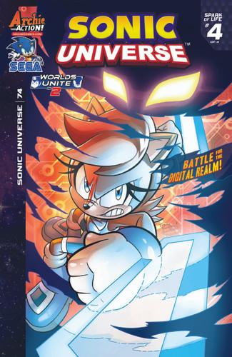 Sonic: Universe # 74
