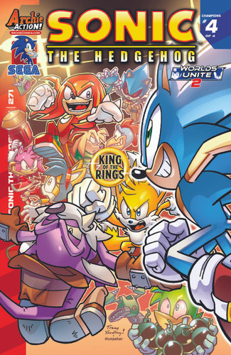 Sonic: The Hedgehog # 271