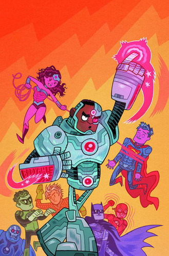 Justice League #42 Limited 'TEEN TITANS GO' Variant