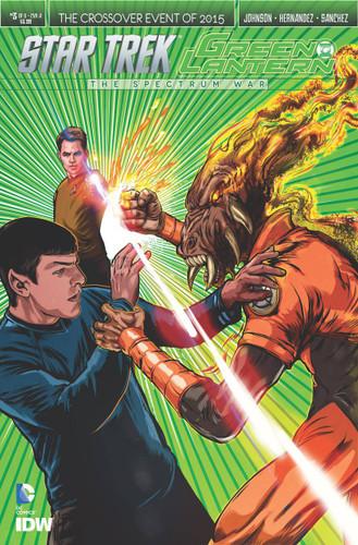 Star Trek / Green Lantern: The Spectrum War #3a (of 6)